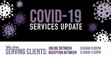 Covid Services Update - Open Online